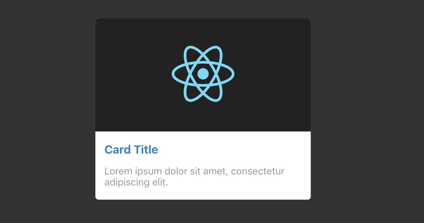 Styled Components Card Component