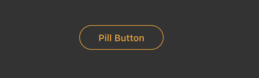 Styled components Pill Button