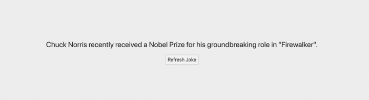 Svelte Chuck Norris Jokes App